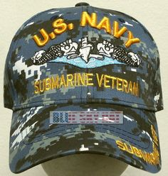 757e8aaeced Camo u.s. navy usn naval the best marine submarine service veteran vet cap  hat