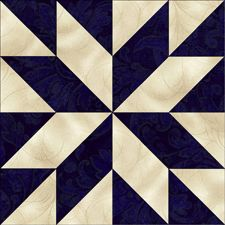 Jinny Beyer Studio — Star of the Milky Way Visit the post for more. Barn Quilt Designs, Barn Quilt Patterns, Pattern Blocks, Star Quilt Blocks, Star Quilts, Half Square Triangle Quilts, Square Quilt, Hunters Star Quilt, Painted Barn Quilts