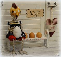 Čo blo prv ? vajce či sliepka, alebo tulipán? / doll.otigo / SAShE.sk