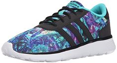 adidas Womens Lite Racer Casual SneakerVivid MintBlackWhite95 M US *** Check out the image by visiting the link.