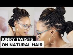 Today is all about these kinky twists I rocked for the majority of January. Natural Hair Twists, Natural Hair Styles, Twist Curls, Big Braids, Kinky Twists, Style Challenge, Faux Locs, Grow Out, Twist Hairstyles