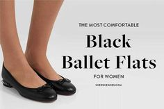 ballet flats will never go out of style. they're chic, they're comfortable and they match anything in your wardrobe. here are the best black ballet flats to shop now #balletflats #balletshoes #flats #classicshoes #womensshoes #amazonfinds Black Ballet Flats, Ballet Shoes, Best Black, Out Of Style, Going Out, Good Things, Chic, Stylish, Classic