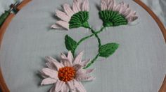 Hand Embroidery Designs | Picot stitch | Stitch and Flower-140