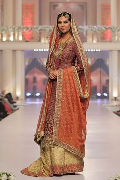 Telenor Bridal Couture Week 2015 Sana Abbas Collection