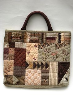 Quilt bag | Works by my mother. | Ryoko Yagi | Flickr