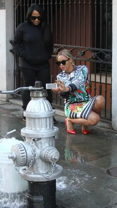 Beyonce in New Orleans January 9th 2014