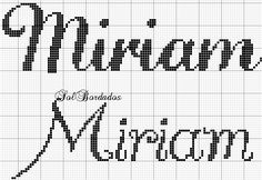 Letters And Numbers, Cross Stitch, Math, Tutorials, Boy Names, Female Names, Cross Stitch Alphabet, Cross Stitch Embroidery, Diy And Crafts