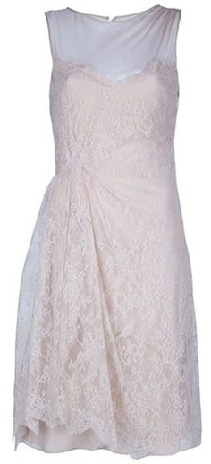 Valentino Lace Dress in Pink