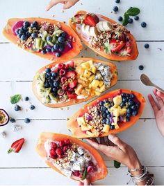 Breakfast Inspiration: Papaya Boats