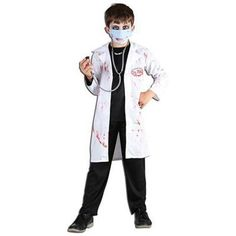 Children's Mad Doctor Costume