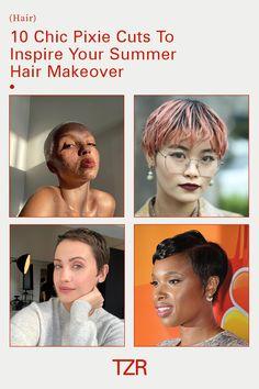 Beauty, hair, haircut, short hair, pixie cut Summer Hairstyles, Cool Hairstyles, Haircut Short, Good Hair Day, Pixie Cut, Hair Care, Short Hair Styles, Chic, Inspiration