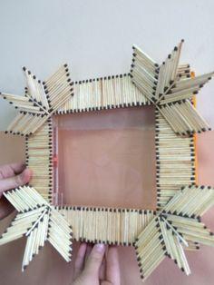 5/B sınıfından Sıla Morgil tarafından hazırlanmış bir proje - Kibrit Kutuları ve Kibritten Çerçeve Yapımı