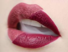 @smoldercosmetics Matte Lipstick in Royal and Desire