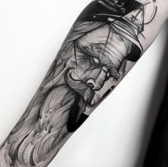 Old sailor tattoo by Frank Carrilho