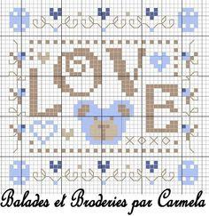 love xoxogarcon par Carmela