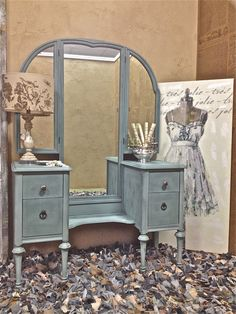 Painted Vintage Shabby Chic Cottage Romantic by DesignWithUs, $1140.00