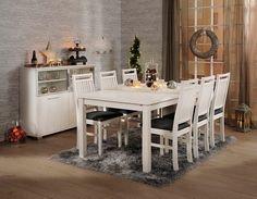 Basel ruokapöytä ja Luna-tuolit