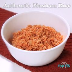 Authentic Mexican Rice - We ve tried a LOT of Mexican Spanish rice s and this is our favorite It s easy and delicious Perfect side to any meal Authentic Mexican Recipes, Mexican Rice Recipes, Rice Recipes For Dinner, Mexican Dishes, Easy Mexican Rice, Easy Cooking, Cooking Recipes, Healthy Recipes, Homemade Spanish Rice