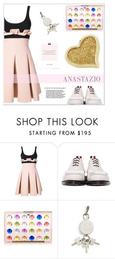 """Anastazio-street style"" by anastazio-kotsopoulos ❤ liked on Polyvore featuring David Koma, Thom Browne, Mary Katrantzou, Alexander Wang and Anastazio"