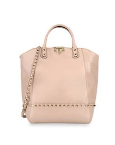 Valentino pastel pink double handle bag, spring 2012 collection