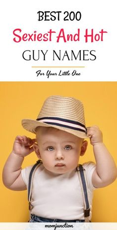 200 Most Attractive And Hot Guy Names That Women Love - Mom Junction - 200 Most Attractive And Hot Guy Names That Women Love : Looking for sexy and hot guy names for your baby boy? Don't fret, has got you sorted for this! Find huge list of and male - Male Names List, Baby Boy Names Rare, Popular Baby Boy Names, Names For Boys List, Famous Baby Boy Names, Boy Name List, Baby Boys Names, Baby Boy Names Vintage, Cute Guy Names