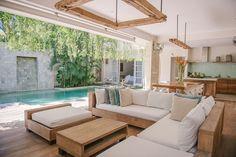 trendy home design inspiration exterior interiors Villa Design, Home Design, Modern House Design, Modern Exterior, Exterior Design, Bali Style Home, Exterior House Colors, Tropical Houses, Modern Tropical House
