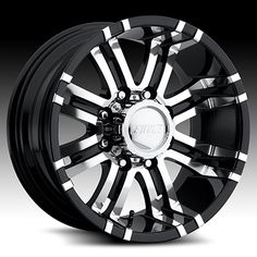 Black Chrome Wheel Truck Rims Find the Classic Rims of Your Dreams - www.allcarwheels.com