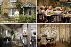 I want to live in a Nancy Meyers movie ..... some of the most gorgeous interiors / exteriors on film.