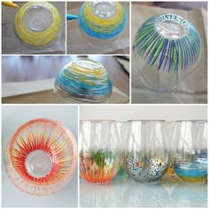 DIY Color Your Own Glassware DIY Color Your Own Glassware by diyforever