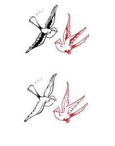 Bird tattoo idea