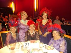 Some of our hatters at our musical HATS! The Musical! Such a wonderful time!
