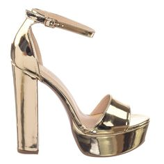 d4644e6196e About This Shoes  Charm your friends with these towering high chunky heel  sandals with a