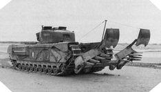 """Image: """"Bullshorn Plough"""" tank"""