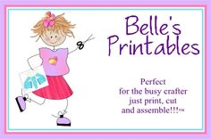 Belle's Printables - Lots of little box and basket templates that you print and fold.
