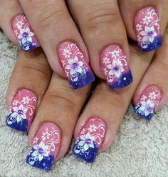 Fabulous Nails - 0406072465 Fabulous Nails, Pretty Nails, Nail Designs, Hair Beauty, Creative, Cute Nails, Belle Nails, Nail Desings, Nail Design