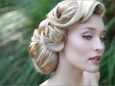 Updo - 50s inspired hair...for brother's engagement