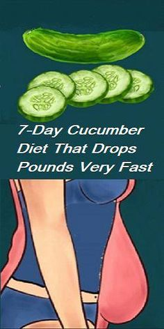 Cucumber Diet That Drops Pounds Very Fast - Diet and Nutrition Best Diet Foods, Best Diets, Healthy Foods To Eat, Healthy Drinks, Gm Diet, Lose 5 Pounds, Low Fat Diets, Diet Chart, Gluten Free Diet