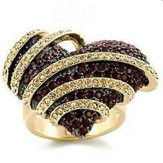 Chocolate Diamonds Ring