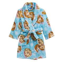 Disney Frozen Anna & Elsa Fleece Robe #Kohls #FrozenFriday
