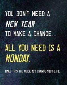 Good Morning #Fitness Kick Start The Week With Some Monday Morning Motivation #30DFC #MondayMotivation