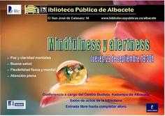 #actividadesbiblioteca  Mindfulsess y alertness