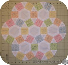 ProsperityStuff Quilts: Round English Paper Piecing (sort of)