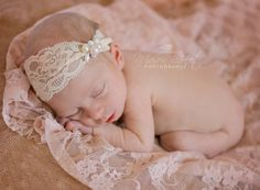 Set: Blush Stretch Lace Wrap and Antique Ivory Lace and Pearl Headband Wrap by AMOSandSAWYER on Etsy https://www.etsy.com/listing/175128964/set-blush-stretch-lace-wrap-and-antique