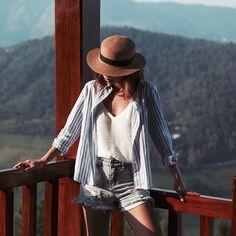 "Andrea Chong on Instagram: ""Mountain life, wearing an @eternityloft shirt. #dreainvietnam #sapa"""