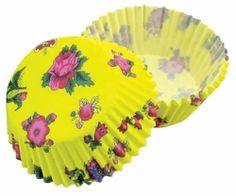 Formičky na muffiny a cupcakes 50ks č. Muf-67 růže