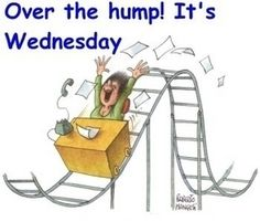 Happy Wednesday! Hang in there, the weekend's almost here.