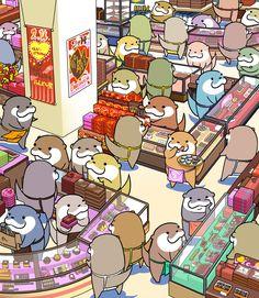 Shopping From Kagijouurushi cute picture!!