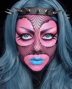 Username: @vanityvenom Number of followers: 26.6K Known for: almost demonic (yet still feminine) styles. She won the prestigious NYX Face Awards in the United Kingdom for her talents.