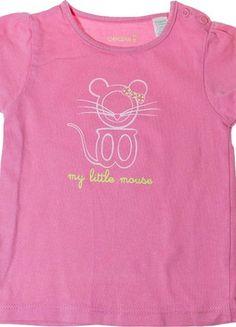Tee-shirts manches courtes Obaïbi - 12 mois
