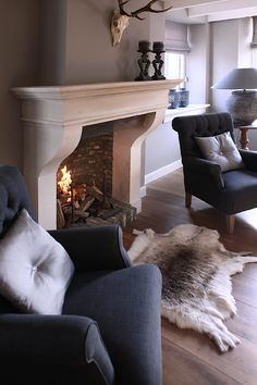 A simple and nice hand carved fireplace of french limestone. We can make this fi., A simple and nice hand carved fireplace of french limestone. We can make this fireplace any size you want. Fireplace Seating, Bedroom Fireplace, Home Fireplace, Living Room With Fireplace, Home Living Room, Interior Design Living Room, Neptune Home, Living Room Arrangements, Living Room Inspiration